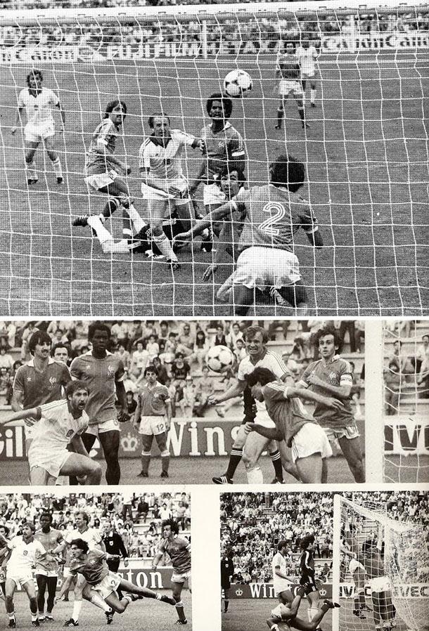 24 juin 1982 france 1 1 tch coslovaquie premier tour de coupe du monde - Coupe du monde de football 1982 ...