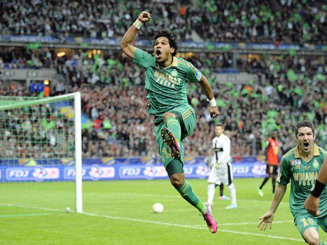 20 avril 2013 asse 1 0 rennes finale coupe de la ligue poteaux carr s - Coupe de la ligue 2013 14 ...