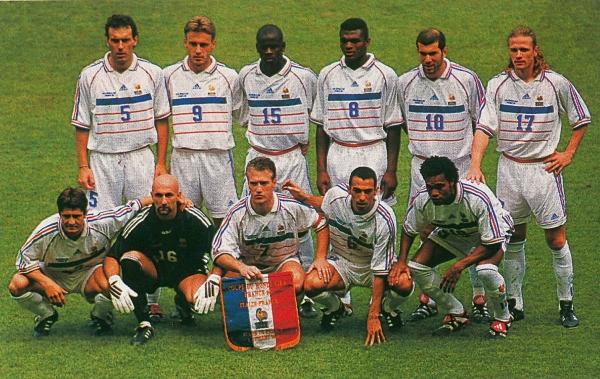 3 juillet 1998 france 0 0 italie 4 3 tab quart de - Italie foot coupe du monde ...