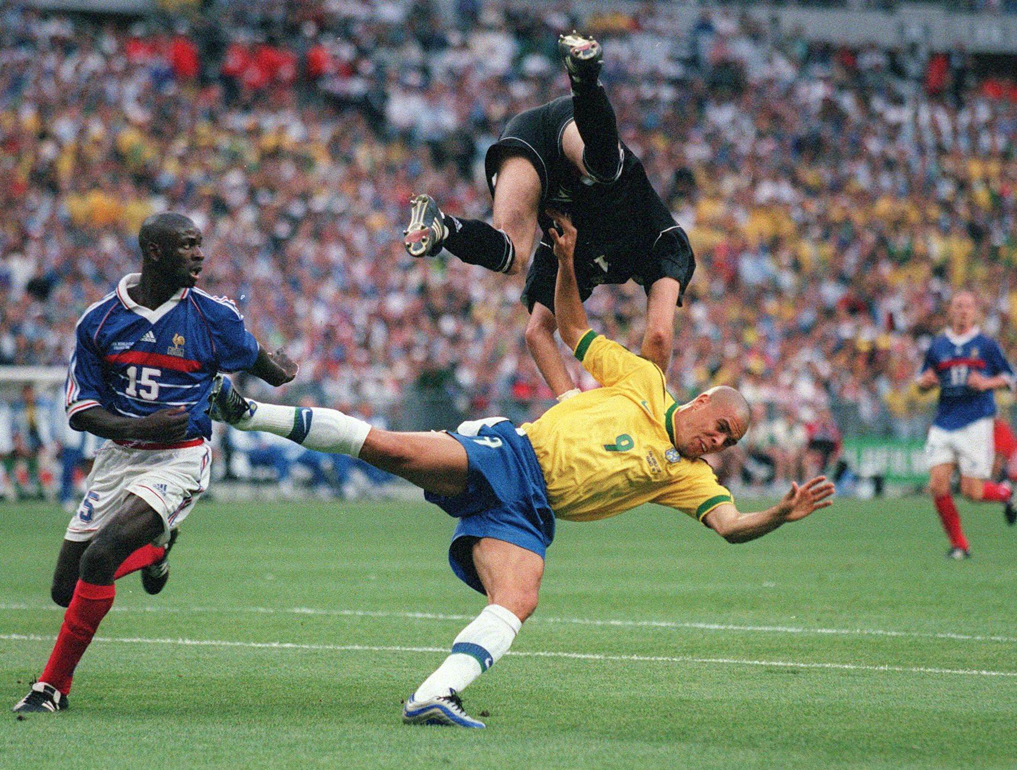 12 juillet 1998 france 3 0 br sil finale de coupe du monde - Coupe du monde du bresil ...