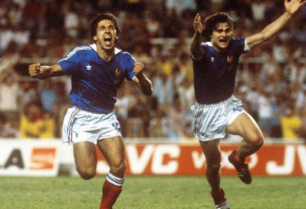 8 juillet 1982 france 3 3 rfa 4 5 tab demi finale de coupe du monde poteaux carr s - Coupe du monde france allemagne 1982 ...