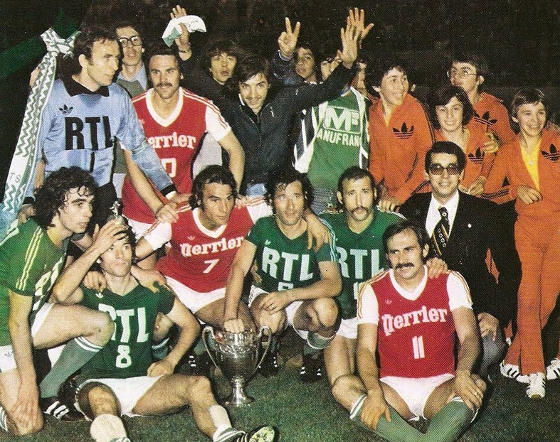 18 juin 1977 : ASSE 2-1 Reims - Finale de la Coupe de France