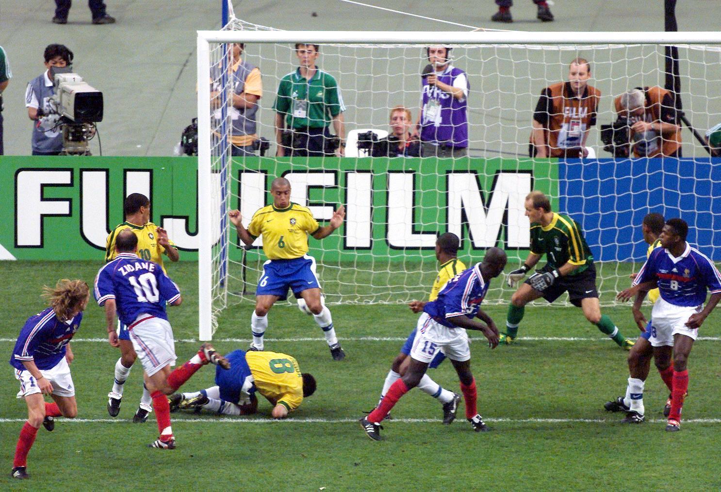 12 juillet 1998 france 3 0 br sil finale de coupe du monde - Tous les buts coupe du monde 1998 ...